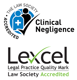 Image of Law Society Clinical Negligence Accreditation logo
